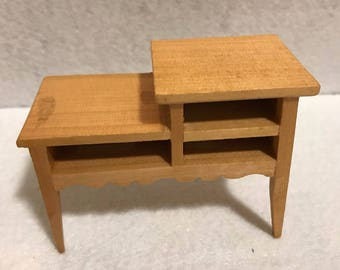 Vintage Desk, Miniature Dollhouses