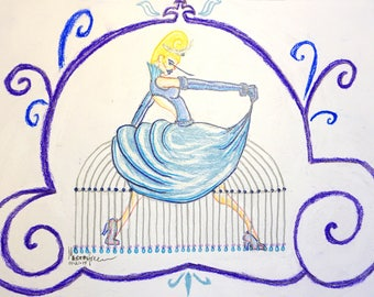 Cinderella - The Classics Collection, THE PRINCESS PROJECT; Signed Limited Edition Reproduction