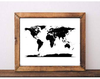 World Map Printable