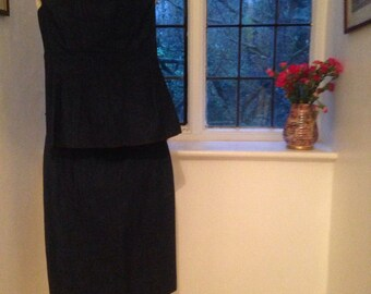 Chanel Boutique Vintage Denim Skirt and Top