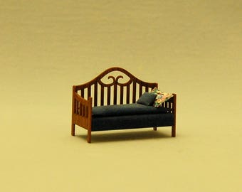 1/4 inch scale miniature-Daybed