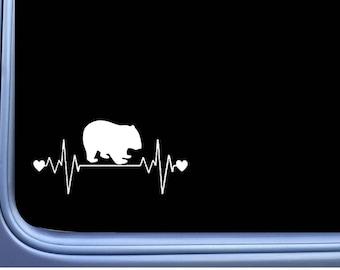 Wombat Lifeline J893 8 inch Sticker Australia Decal