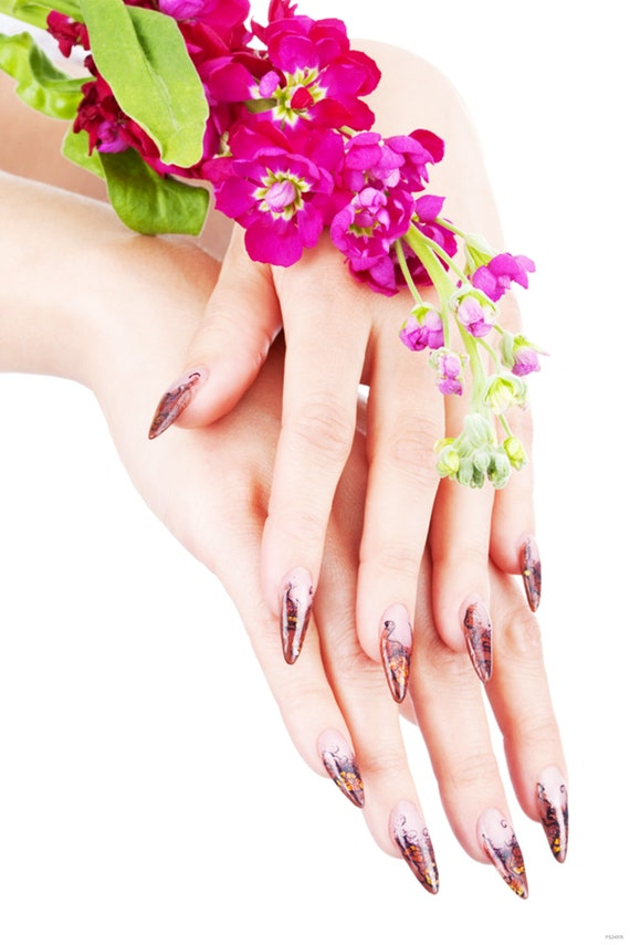 Poster Nail Art Poster Wall decor Display Pedicure Manicure