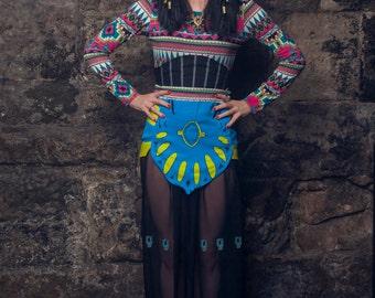 Katy-Patra Katy Perry Egyptian inspired Costume - Dark Horse Video - Custom Made
