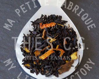 The big bad wolf: Fruity and spicy black tea