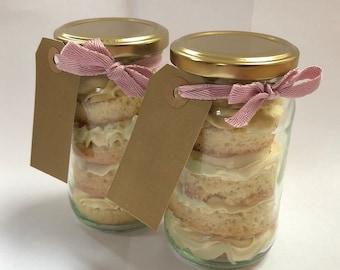 Luxury Vegan Gluten Free Cake Jar * Vanilla
