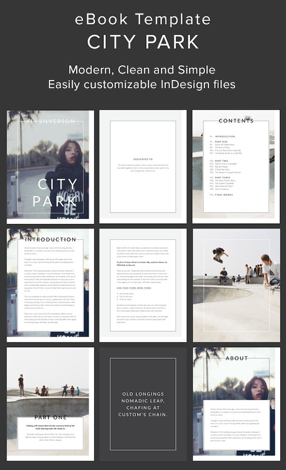 Simple and Modern eBook Template