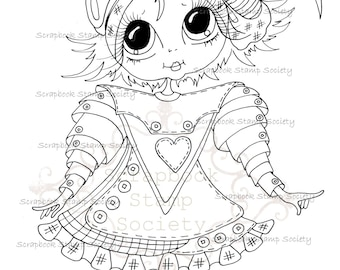 INSTANT DOWNLOAD Digital Digi Stamps Big Eye Big Head Dolls Digi   Besties Besties Of Oz IMG640 By Sherri Baldy