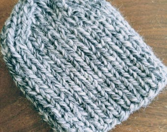 Super chunky wool toque