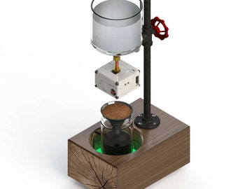 Closed loop drop-BOB: the only cold drip coffee maker you can count on!