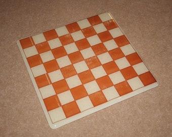 Conseil d'échecs en verre