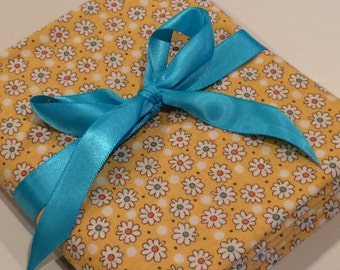 Quilting Fabric, Floral Print Fabric, Small Flowers, One Yard, 100% Cotton