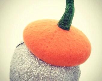 Halloween, Thanksgiving Pumpkin Fascinator
