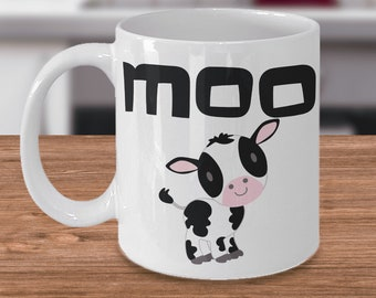 Funny Mooing Cow Gifts Mug for Cow Lovers Cow Mugs for Women Cow Lover Gifts