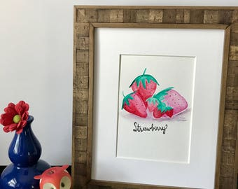 Simple Strawberries