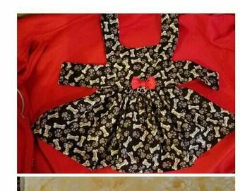 Bone dress.Custom to size 18 girth.