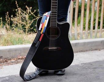Modern Art Guitar Strap