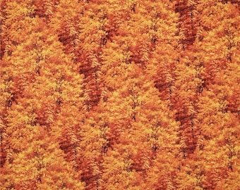 Bringing in the Harvest Fall Leaves   Wilmington Fabrics By the Yard