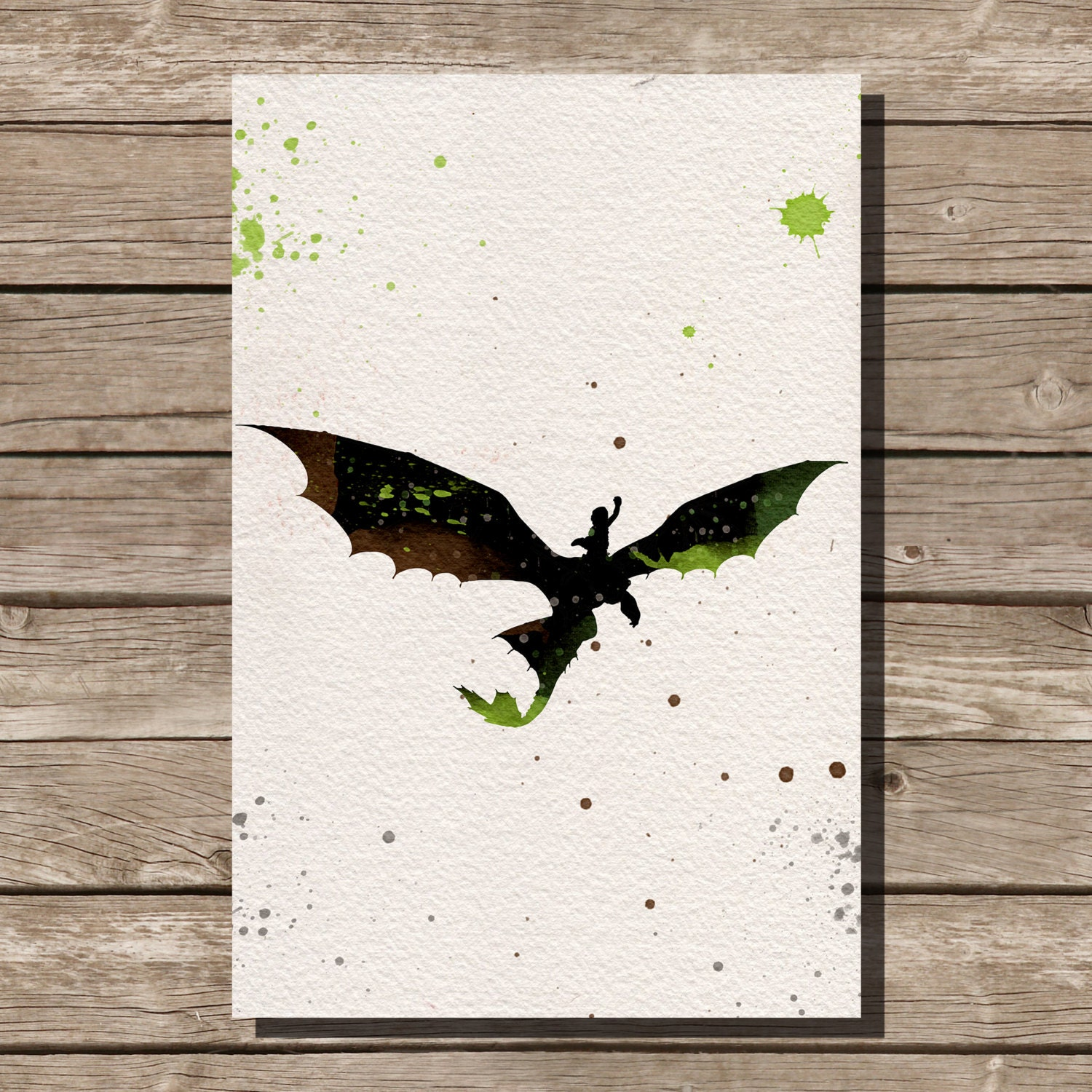 How to train your dragon hiccup and toothless watercolor zoom ccuart Image collections