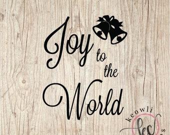 Joy to the World Vinyl Decal