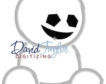 Frozen Fever - Snowbies - Embroidery Machine Design - Applique - 3 sizes - Instant Download - David Taylor Digitizing