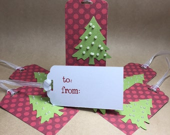 Set of 6 Gift Tags