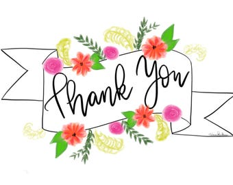 Thank You Card Banner