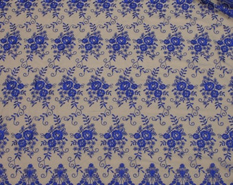 Royal blue lace, embroidery mesh lace, lace fabric, buy yard, lace for dress, lingerie lace-1/yard