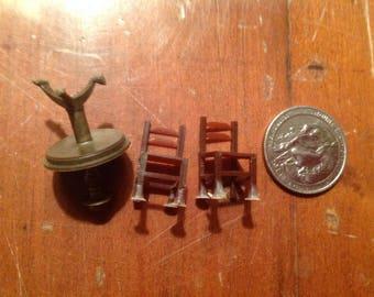 Micro Mini Miniature  furniture 1 :1 44