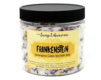 Frankenstein Bath Salts - Literary Gift - Book Bath