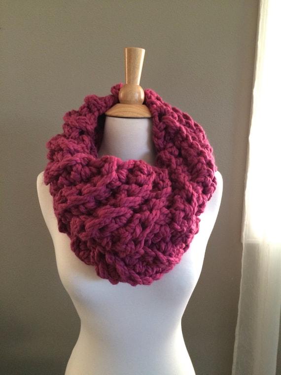 Diy Crochet Pattern Ceces Cowl Super Bulky Cowl Easy