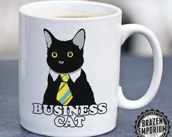Business Cat Meme Right Meow