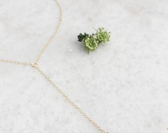 HERKIMER DIAMOND DROP Necklace