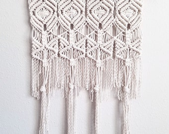 "Macrame wall hanging | boho home decor | 70s hippie art | ""SUN MEDALLION"" 