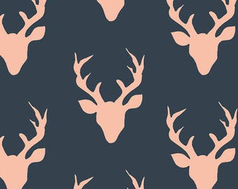 Art Gallery Fabric Woodlands Fusion Buck Forest Quilting Fabric cotton