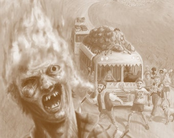 Zombie jerky (Hellfire flavour)