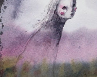 Her Ghost in the Field (original painting)