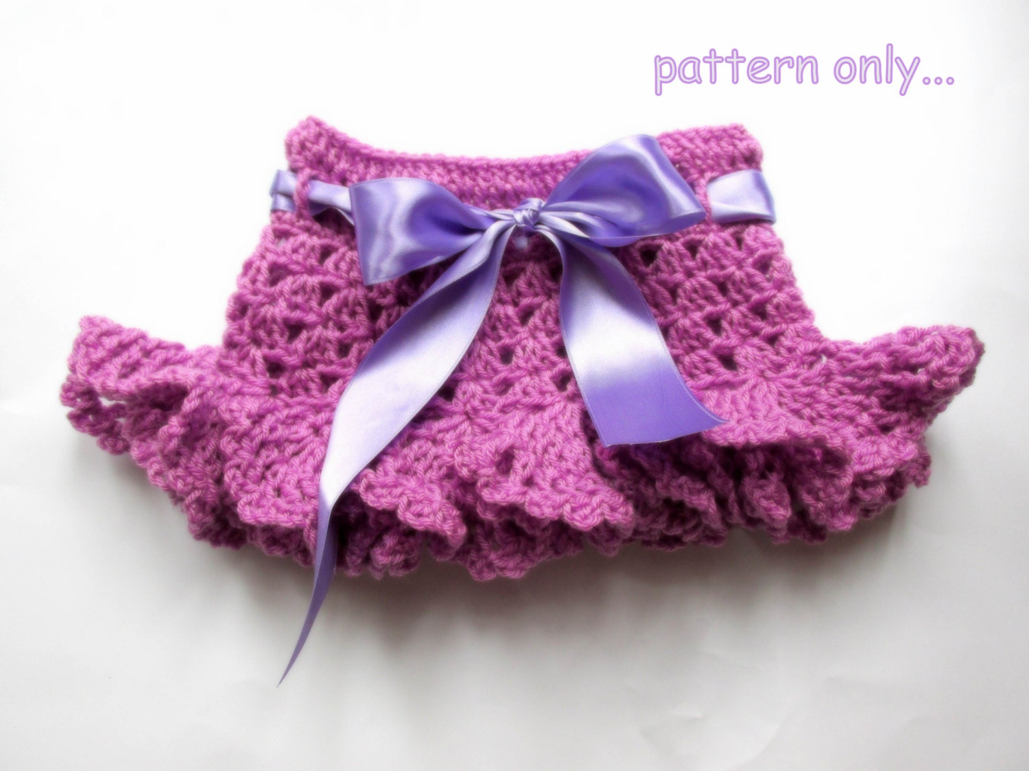 Baby Skirt crochet Pattern Toddler Skirt Pattern DIY