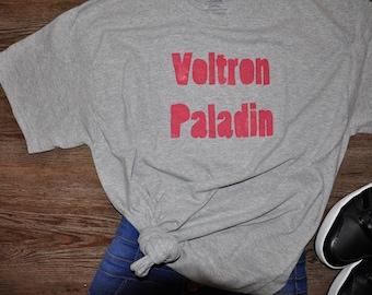 VOLTRON PALADIN shirt