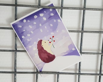 Hedge High-Christmas card