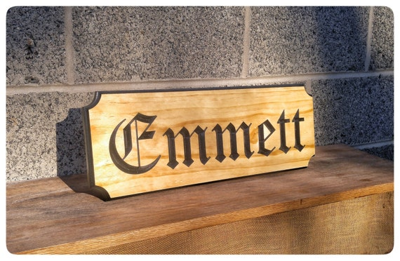 Routed Wood Signs Inset Letters Professional Signs Outdoor