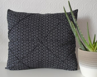 """Cushion Cover/Origami Cushion Cover/Envelope back opening/14"""" x 14""""square/Cotton mix fabrics"""