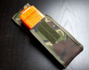 Nerf Magazine/Clip Pouch - Various Colours - Belt & MOLLE Mounted