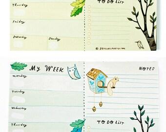 2019 planner notepad - 2019 life planner 2019 planner / 2019 desk planner, 2019 weekly planner, 2019 weekly planner, cute planner 2019