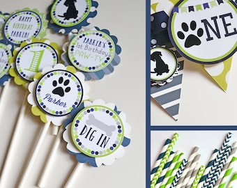 Puppy Dog Birthday Party Decorations Package Fully Assembled