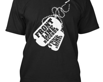Front Line Drum and Bass Dnb Rave Music Festival T-Shirt Jungle Gift Idea