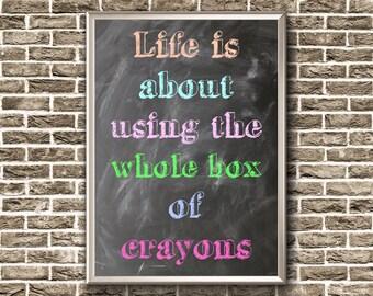 Motivational Poster | Inspirational Nursery Wall Art | Classroom Poster | Inspirational Quote | Motivational Print | Classroom Printable