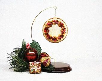 Beaded Ornaments, Handbeaded Xmas Ornaments, Christmas Ornaments, Xmas Ornaments, Victorian Ornaments, Floral Ornaments, Swarovski Beaded