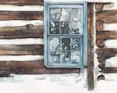 Barn Window Painting- Pri...