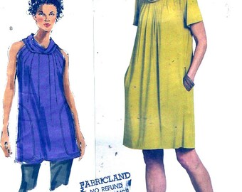 Todays Fit Dress tunic Sandra Betzina design loose fitting pullover frock sewing pattern Vogue 1173 One size UNCUT